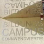 BildungsCampus Sonnenwendviertel – das Türschild