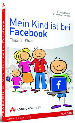 Mein Kind ist bei Facebook - Tipps für Eltern - Buchcover - bei amazon bestellen