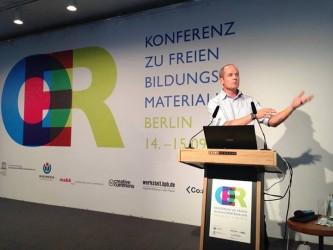 Neil Butcher bei der OER-Konferenz 2013