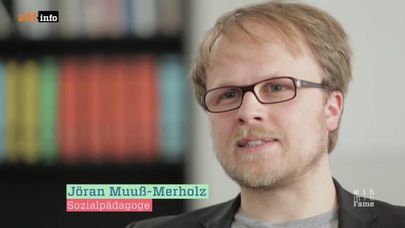 Jöran Muuß-Merholz, eigentlich kein Sozialpädagoge