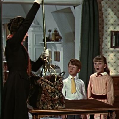 "Ausschnitt aus dem Film ""Mary Poppins"" (1964, nicht unter freier Lizenz)"