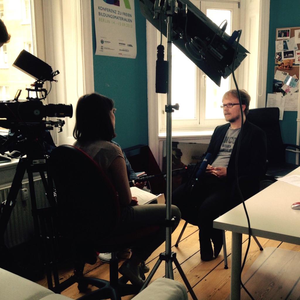 """Interview mit Jöran Muuß-Merholz für """"DAS"""" auf N3"""