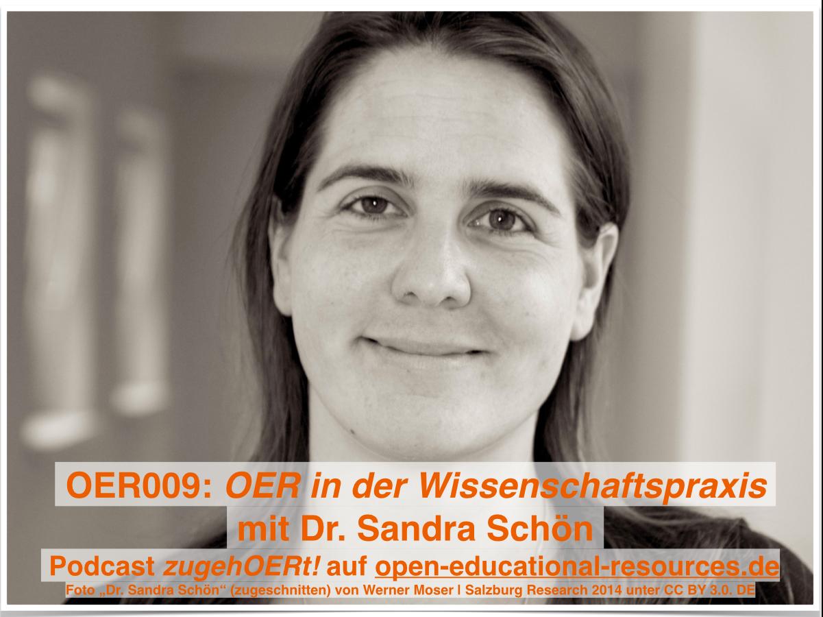 OER009 - zugehOERrt mit Sandra Schoen