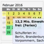 Screenshot inverser Ferienkalender