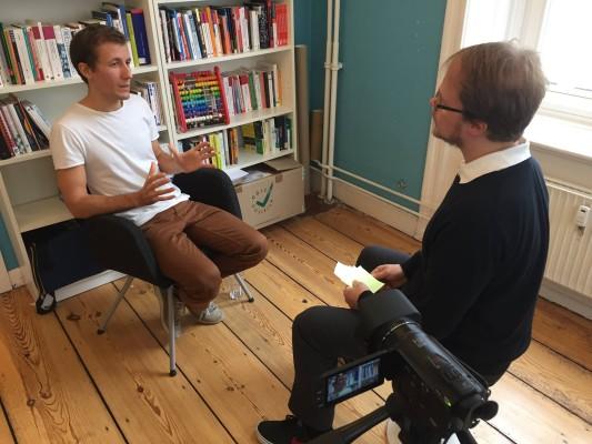 Simon Köhl und Jöran Muuß-Merholz im Interview