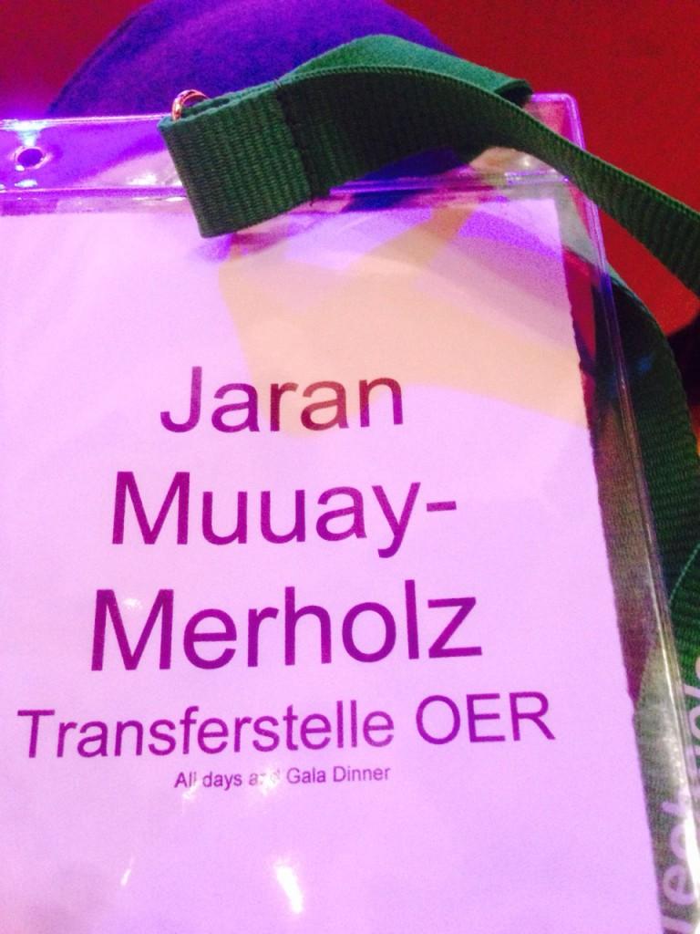 Namensschild in Wales: Jaran  Muuay-Merholz