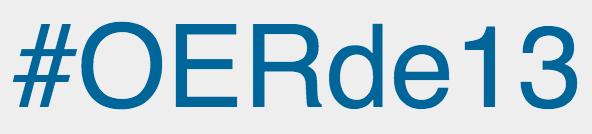 Logotype #OERde13