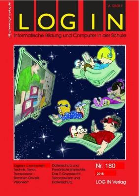 """Cover der Zeitschrift """"Log In"""" Ausgabe 180"""