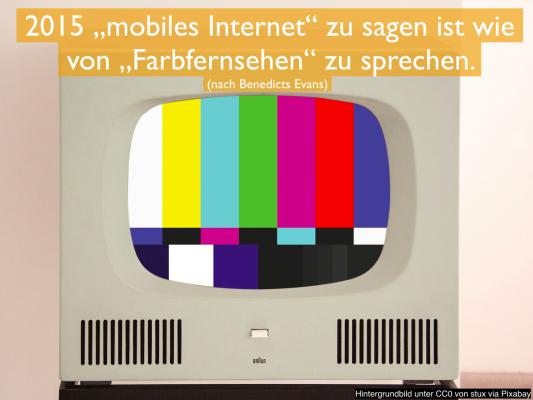 mobiles internet farbfernsehen