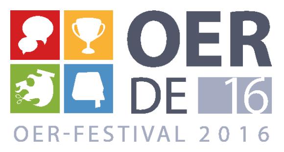 OERde16 OER-Festival 2016 Logo
