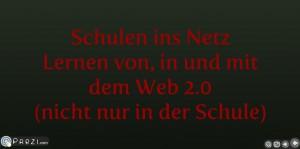 "Präsentation ""Schulen ins Netz"""