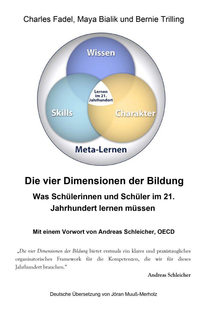 """Cover zum Buch """"Die vier Dimensionen der Bildung"""""""