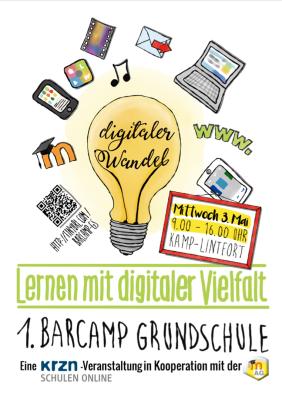 Poster 1. BarCamp Grundschule