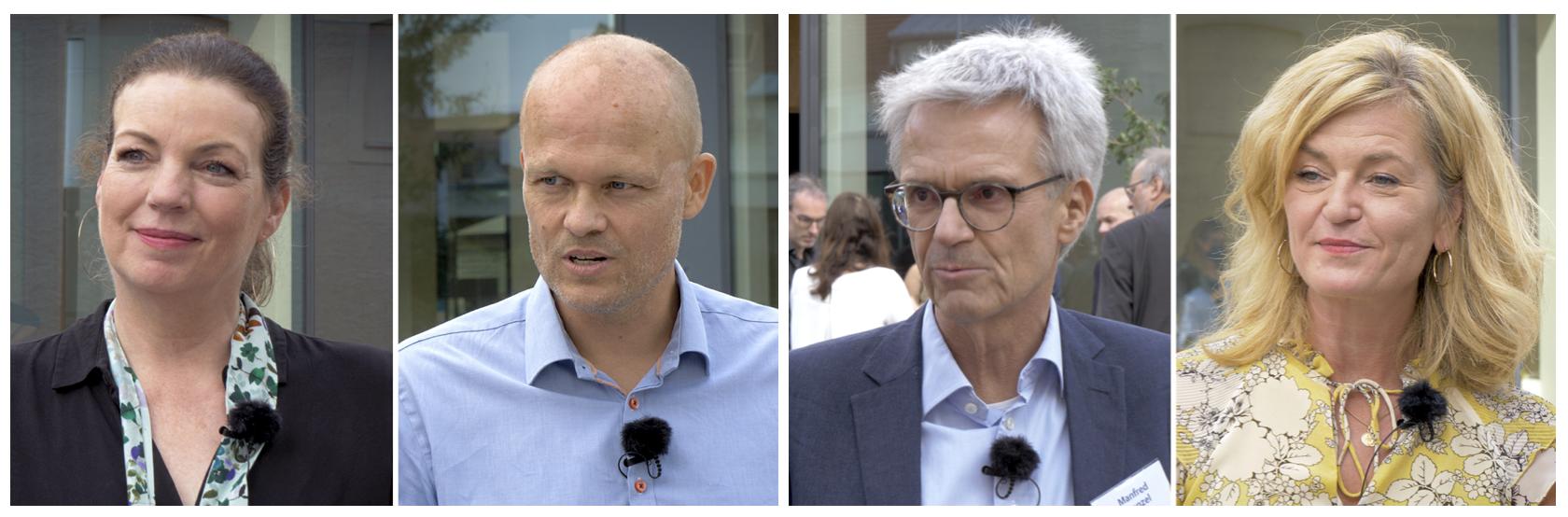 Kerstin Wilmans, Jeppe Bundsgaard, Manfred Prenzel und Miriam Pech (v.l.n.r.)