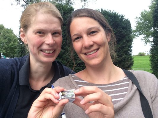 Stefanie Maurer (links) und Christine Pannen (rechts). Foto: Stefanie Maurer, privat.