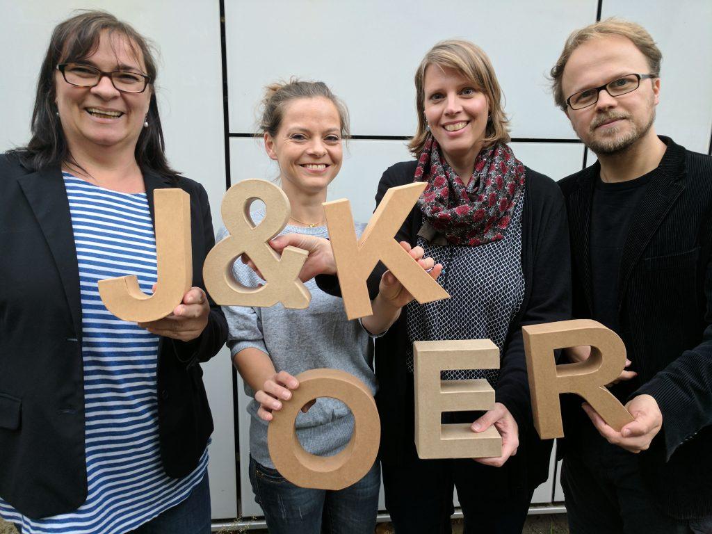 J&K Team OER, Foto: Hannah Birr, CC BY 4.0