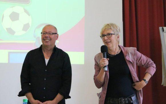 Experten für Mediensucht: Markus Gerstmann und Liane Adam, Foto: Servicebüro Jugendinformation, CC BY