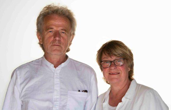 Hanno Hart und Gabriele Kob. Foto: Sebastian Süß, nicht unter einer freien Lizenz.