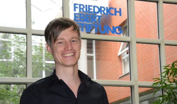 Reimar Winkler, Friedrich Ebert Stiftung (Foto Bernd Raschke, FES)
