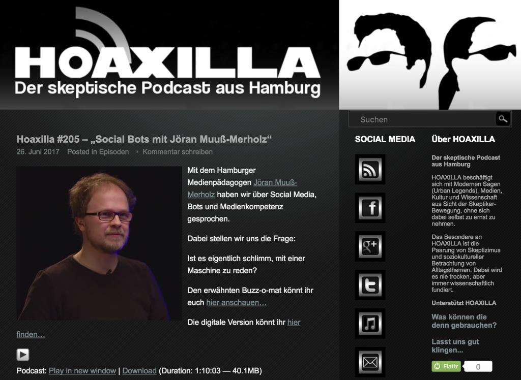 Screenshot von https://www.hoaxilla.com/hoaxilla-205-social-bots-mit-joeran-muuss-merholz/