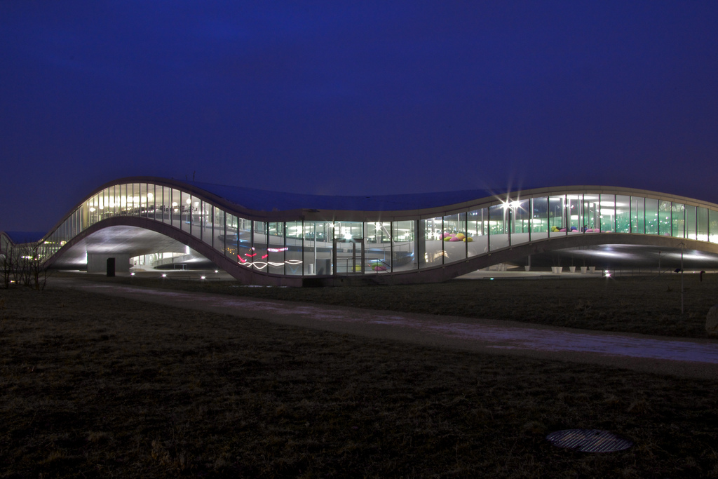 Das Rolex Learning Center in Lausanne