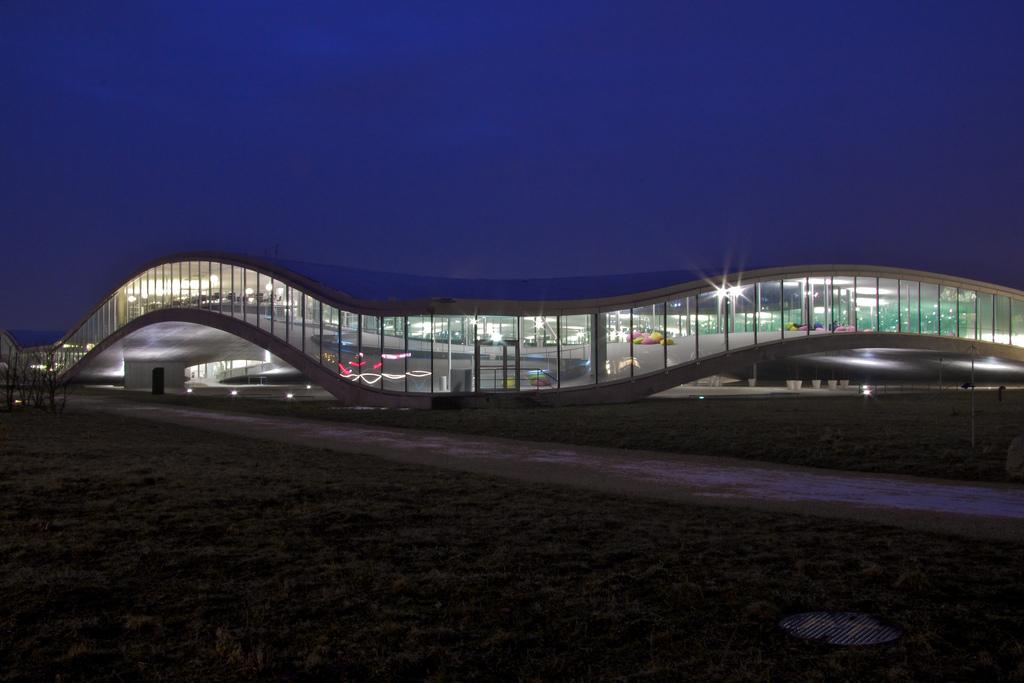 Das Rolex Learning Center in Lausanne