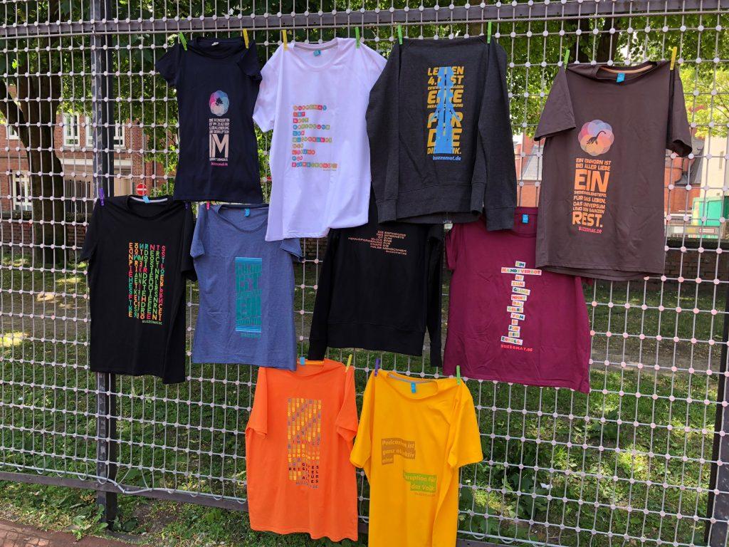 T-Shirts aus dem Buzzomat, Konsorten-Kollektion