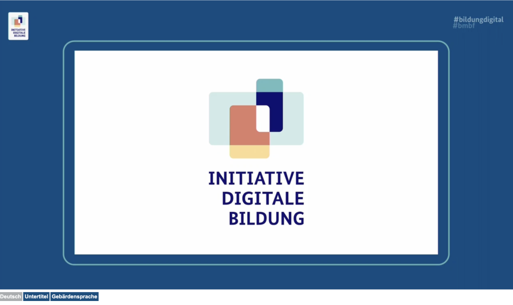 Logo der Initiative Digitale Bildung