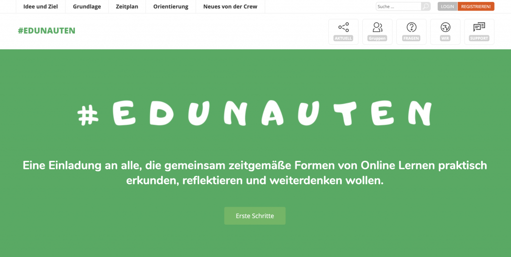 Screenshot von edunauten.de