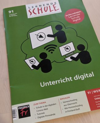 Cover der Zeitschrift Lernende Schule
