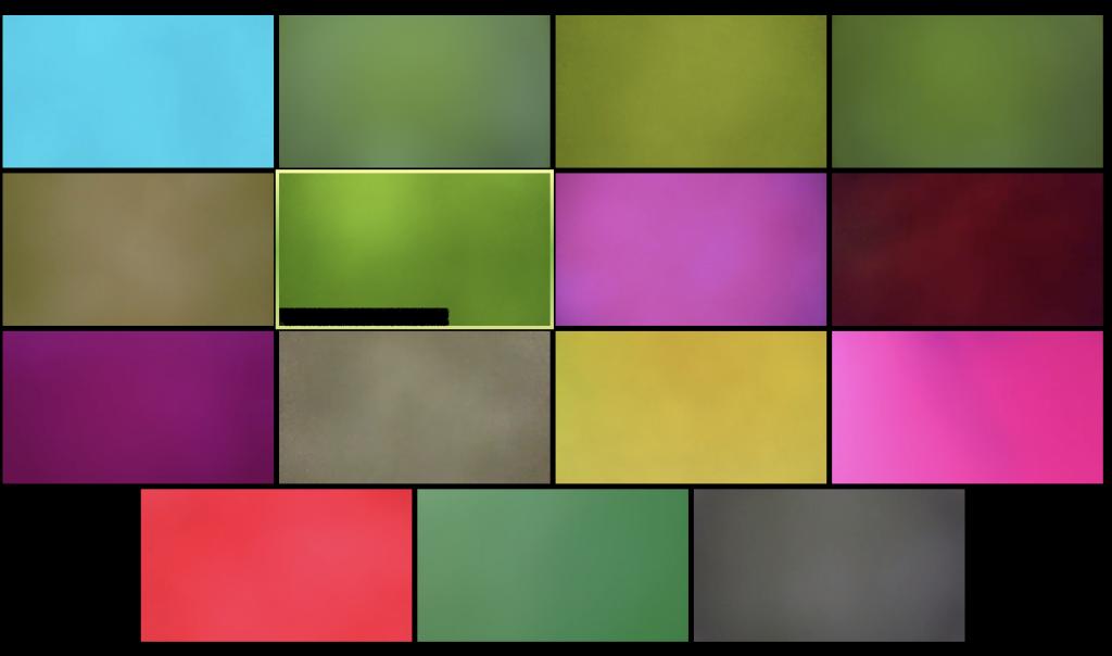 buntes Mosaik aus Videokonferenz-Fenstern