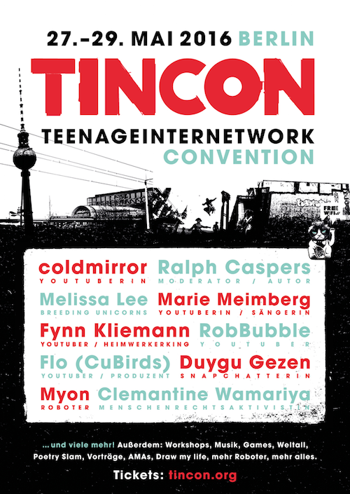 TINCON-Logo, kopiert von Spreeblick